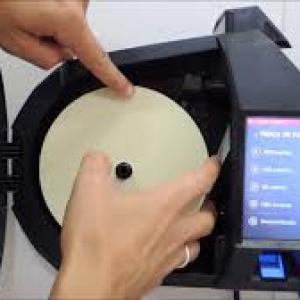 Relogio de ponto biometrico com bobina