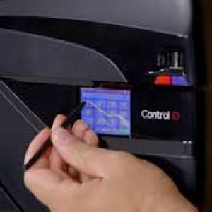 Relogio de ponto biometrico digital