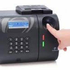 Relogio ponto biometrico pequeno
