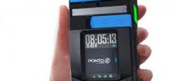 Relogio de ponto digital portatil